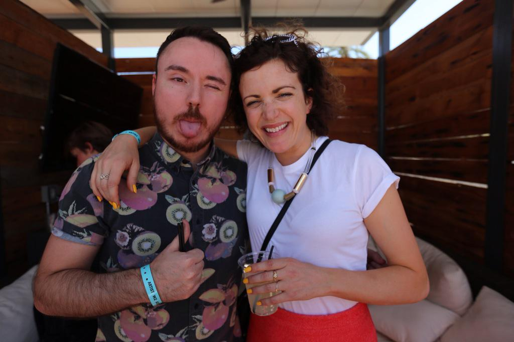 RT @LEDpresents: Hanging with @DukeDumont + @AnnieMac today at #Haciendays http://t.co/Zph3s6sCYu