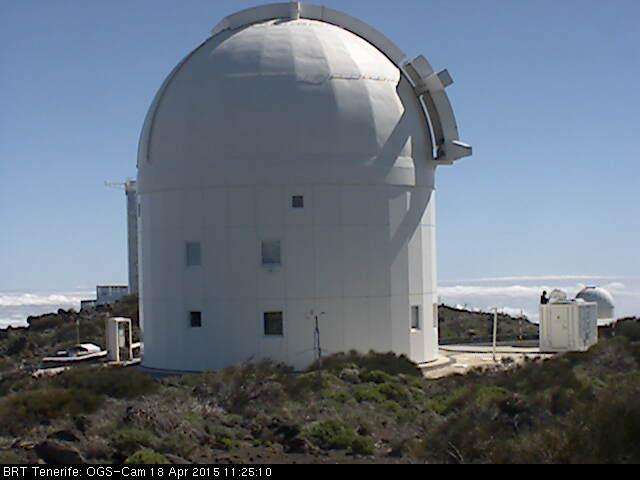 One team member took BigWhoop to Observatorio del Teide