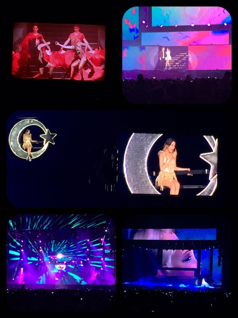 Instantáneas del tercer concierto del #ViolettaLiveBuenosAires @TiniStoessel cobertura para @RadioDisneyLA. http://t.co/fGFDMud993