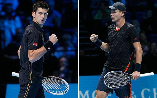 Tennis Atp Masters finale Djokovic-Berdych, info diretta tv streaming rojadirecta sky