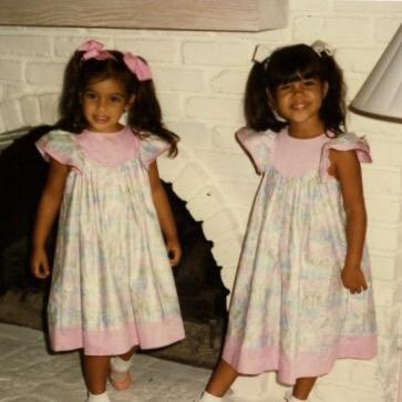 Going thru pics and gonna post a few of Kourtney & I in honor of her birthday! http://t.co/okznNMaOlR