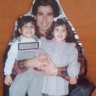 Kourtney & I with our dad! http://t.co/cONkoFucYq
