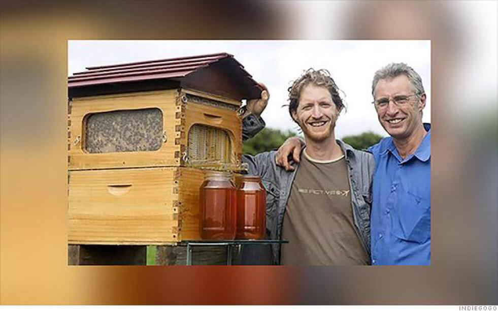 .@flowhive, the most successful @Indiegogo campaign ever, is all about harvesting honey