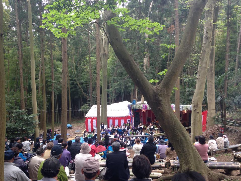 年に1度の遠藤竹炭祭。SFC看護裏で開催されてます。 (@ 遠藤健康の森 in 藤沢市, 神奈川県) https://t.co/Ss2efC3Dm7 http://t.co/yd15nawMFK