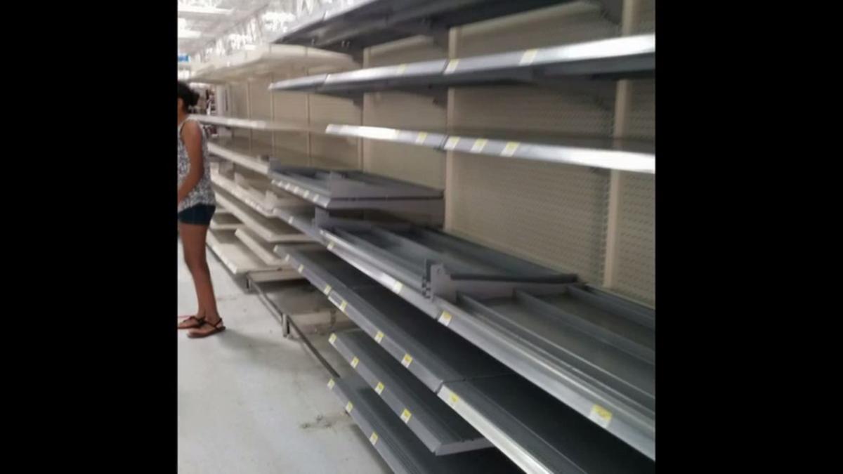Dahboo7 On Twitter Exclusive Footage Inside Closed Walmart In