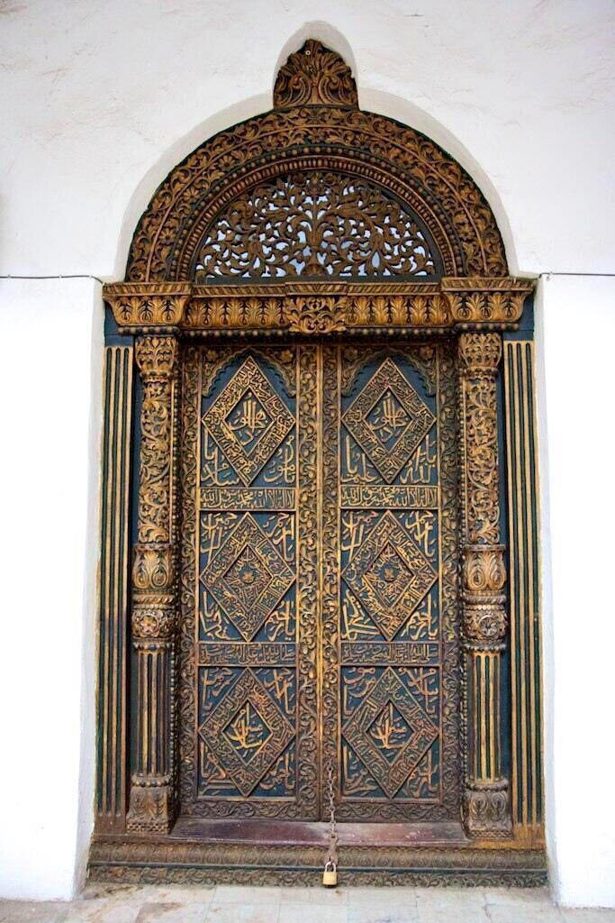 Muslim Culture on Twitter  Masjid Door with Beautiful Arabic Detail Zanzibar. #architecture #africa //t.co/Kz77nE4NxT  & Muslim Culture on Twitter: