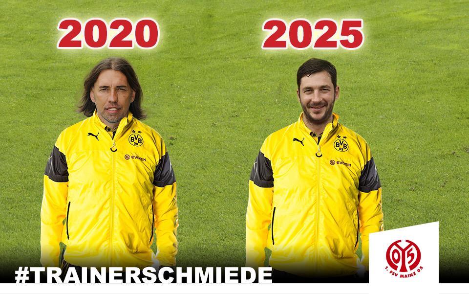 #Mainz05 ist die Trainerschmiede des #BVB #Klopp #Tuchel #Bundesliga @BVB