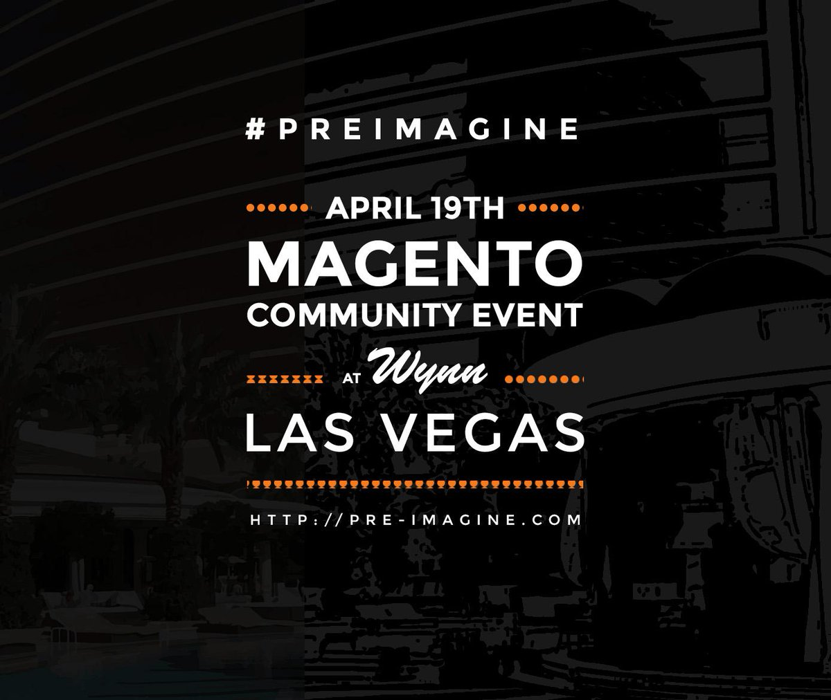 magentogirl: Good Morning! Can't wait to see you all #PreImagine this afternoon. #ImagineCommerce http://t.co/4u4DTiHBq9