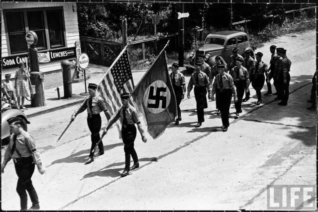 Amerykańscy faszyści czy faszystowscy amerykanie? (zdjęcie)