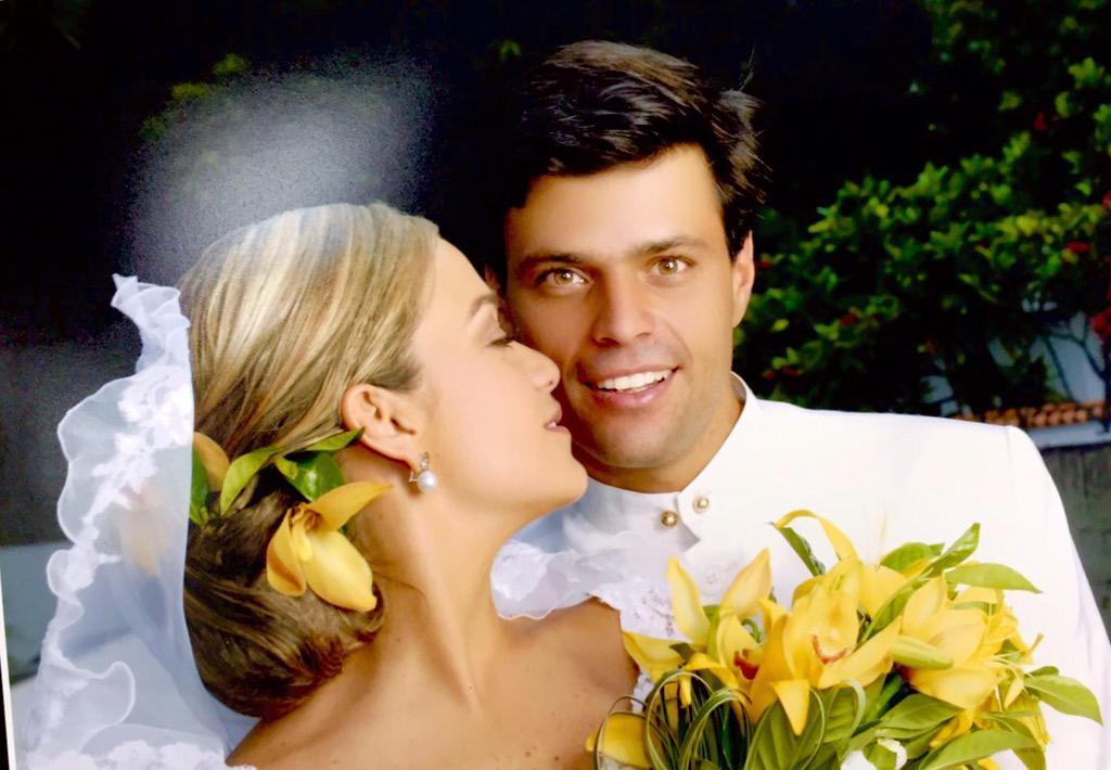 Leopoldo López y Lilian Tintori cumplen hoy ocho años de casados