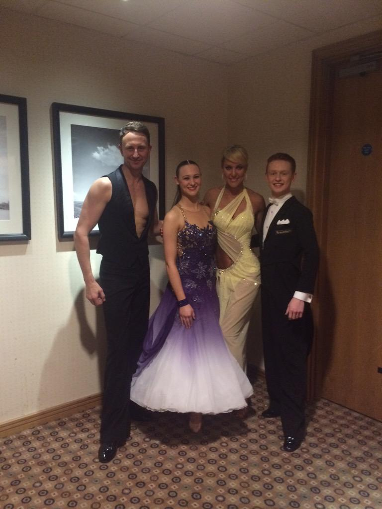 RT @hipschick1996: Fantastic show from the stunning @RealNatalieLowe and gorgeous @ianwaite with a wonderful waltz workshop😘 http://t.co/QX…