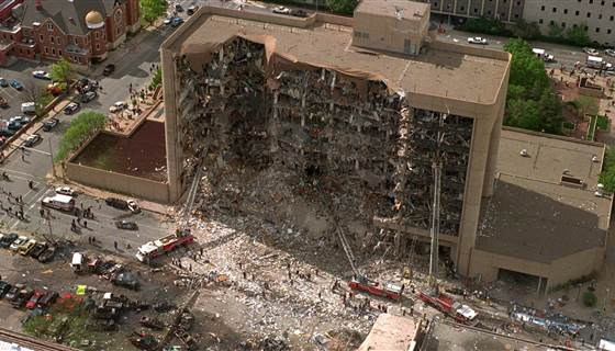 RT @NBCNews: Watch Live: Bill Clinton speaks at 20th anniversary of the #Oklahoma City bombing http://t.co/M16mcOgkPF] http://t.co/fEEAWVP7…