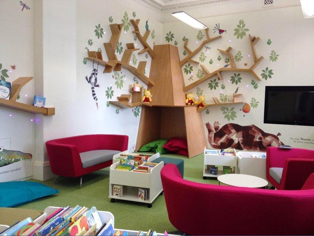 Lesley McMillan On Twitter Enjoyed Designing This Tree Edinburgh Childrens Library Interior Design Catherinerayner Treeofknowledge