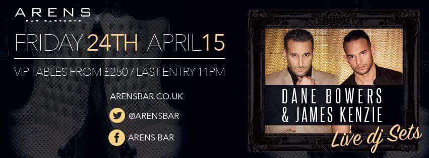 RT @RhiPromotions: Cannot wait for @danebowers to join us FRIDAY @ArensBar he's the absolute #BombDiggy http://t.co/O2QB8bxLeP
