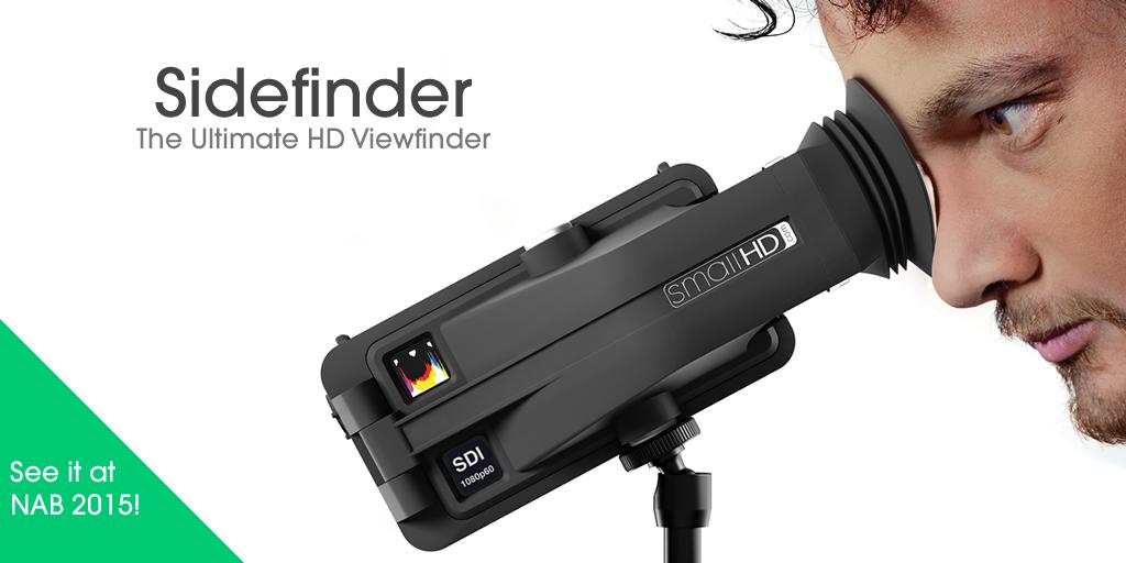Please help us welcome the #Sidefinder to the SmallHD family: http://t.co/62eWysr42a http://t.co/RZiXnzX2h1