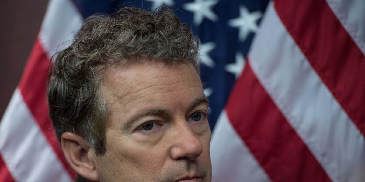 """Rand Paul may not be a """"different"""" kind of Republican. But his hair sure is http://t.co/I6v7TZGlYH http://t.co/4sm1eJ865f"""