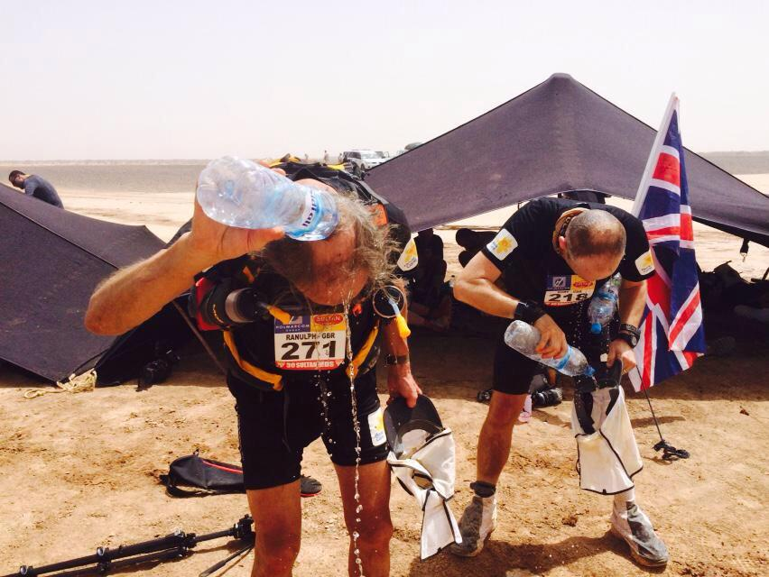 Sunny with you? Imagine running in the Sahara! Sir Ran Fiennes, 71, faces toughest day tomorrow,56 miles! #runRanrun http://t.co/LI7K0bplG6