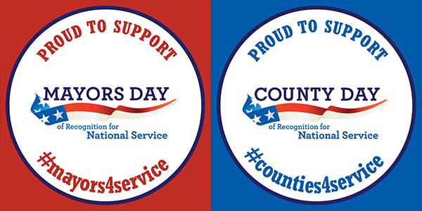 Thumbnail for 2015 Mayors & County Day of Recognition for National Service