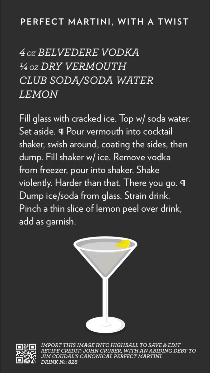 John gruber on twitter perfect martini with a twist created with john gruber on twitter perfect martini with a twist created with highball httpst03wfykrtfr httptfpzfcgq66x sisterspd