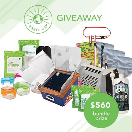 #RT & enter our #EarthDay #Giveaway! Ends tomorrow @ 11 am! http://t.co/2oVKVHFZS2 #ecofriendly #green #home http://t.co/HBGoACYLQu