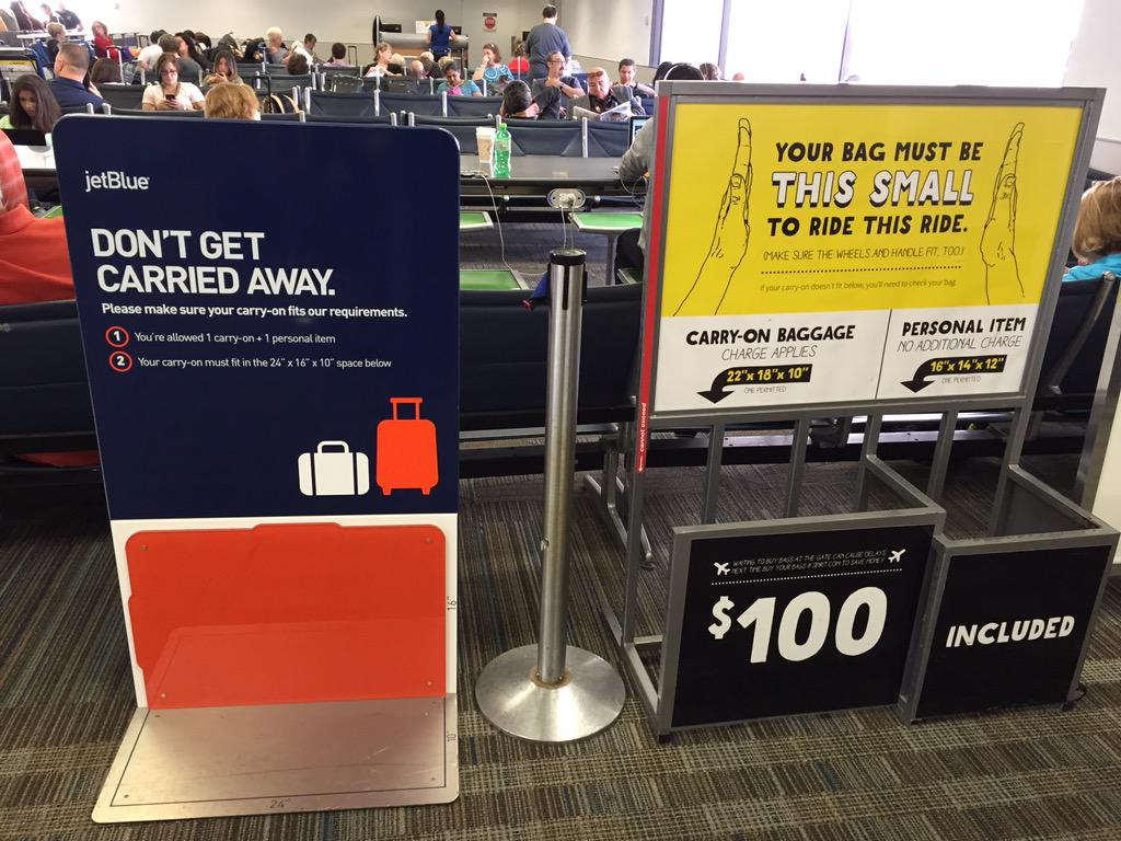 Scott Mayerowitz On Twitter Airline Carry Bag Sizers Fllflyer Both Jetblue And Spiritairlines Http T Co 9jvy5lgmab