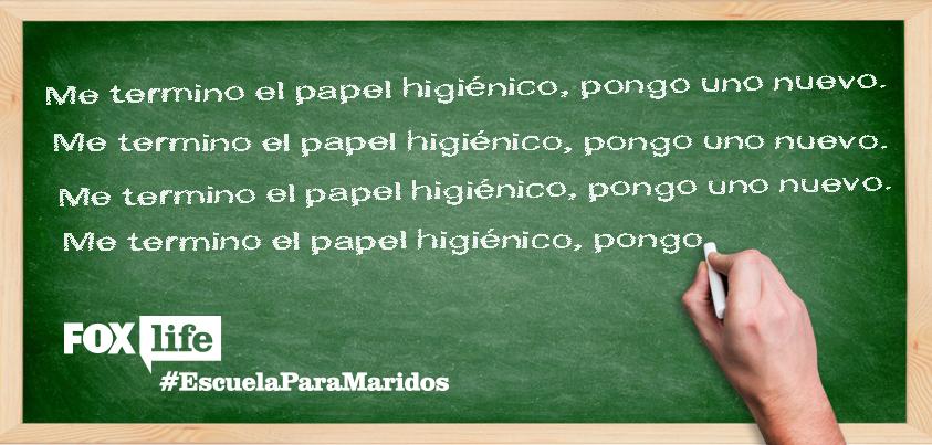 ¿Por qué será que ellos no pueden entenderlo? #EscuelaParaMaridos, nuevo show. Estreno jueves, 10 PM. http://t.co/QhofonUiOS