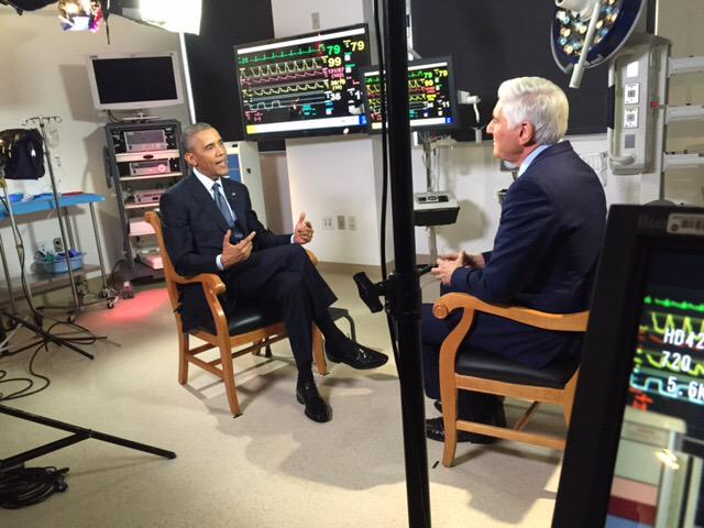 My interview with President Obama about #climatechange #GlobalWarming on @CBSThisMorning @CBSEveningNews tomorrow. http://t.co/4385klnew0