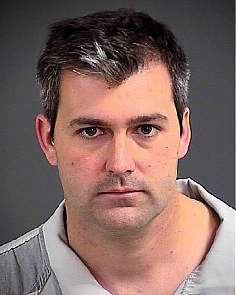 Mug shot of Michael Slager just loaded to the county website. #Chsnews http://t.co/7cGTcRQ50B
