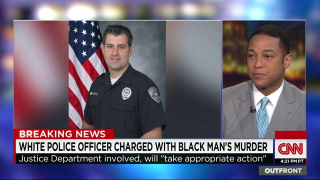 "He shoots the man 8 times and then says ""put your hands behind your back"" - @donlemon on #WalterScott shooting http://t.co/k9EWCErwiS"