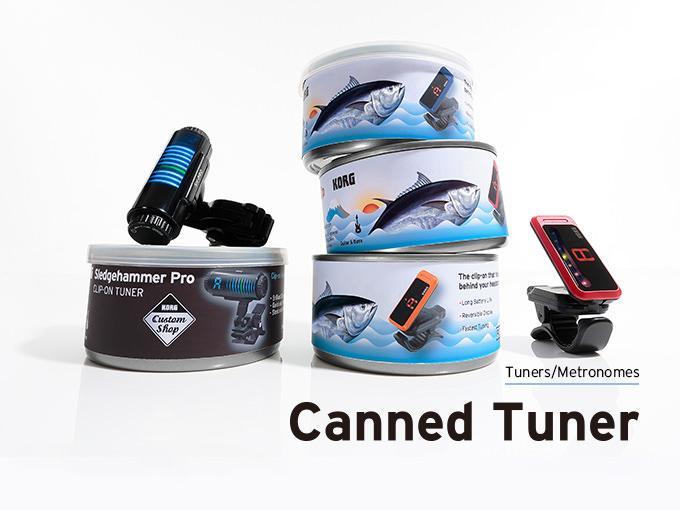 【新製品】すみません、本当に出しちゃいます。こんな缶詰見たことない!チューナー缶新登場。 http://t.co/6LuLysFors #korg http://t.co/gV5OMU7jaL