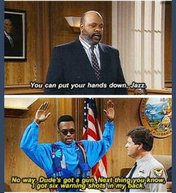 Nothing. RT @Bipartisanism THIS FRESH PRINCE EPISODE AIRED 23 YEARS AGO. 23 YEARS & NOTHING HAS CHANGED #WalterScott http://t.co/BmJI4NmuZl