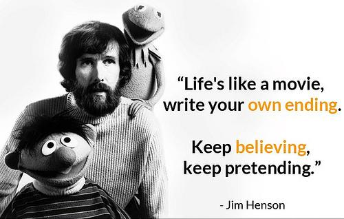 inspiration caused by jim henson essay Discover and share cite movie quotes in essays jim henson 11 share i think and in the end create an inspirational piece of footage.