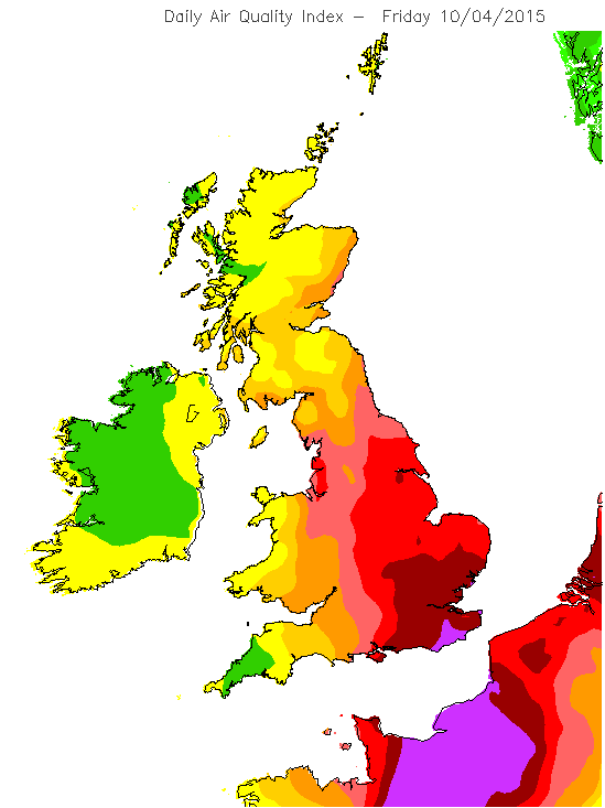 Very high air pollution for Brighton this Friday. http://t.co/ijkHrLRd2F http://t.co/EZR8iEFdlr from @adamvaughan_uk @ibikebrighton