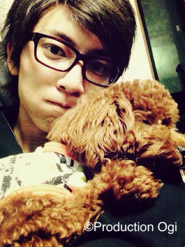 愛犬とかっこいい鮎川太陽