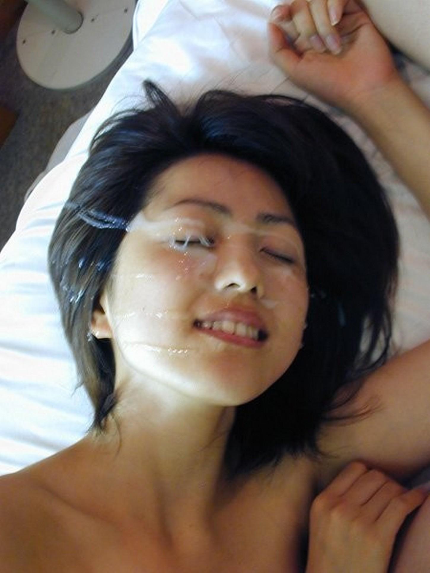 Asian facial cum