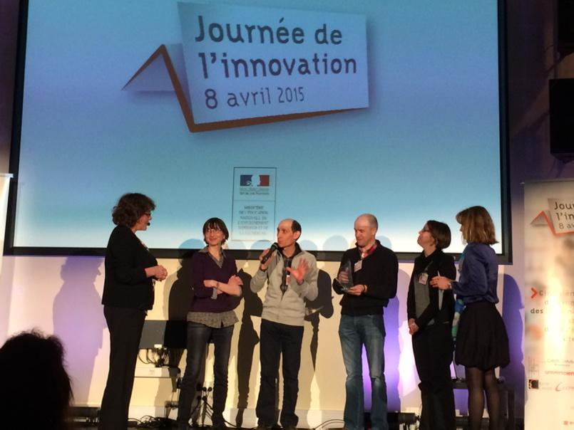 #eduinov Prix des relations inter-niveaux attribué au collège Paul Langevin de l'académie de Limoges http://t.co/kpuuhVQqia