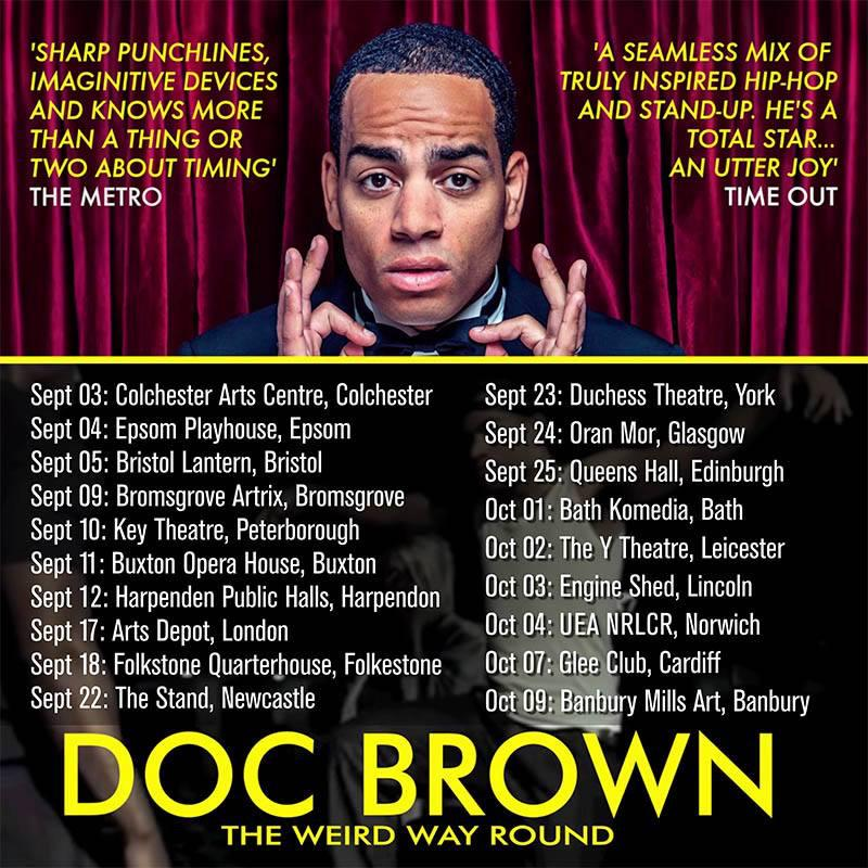 RT @radskiphoto: @docbrown88 new dates! Book your ticket now! Photo by @radskiphoto #art #amazing #happy #music #photography #comedy http:/…