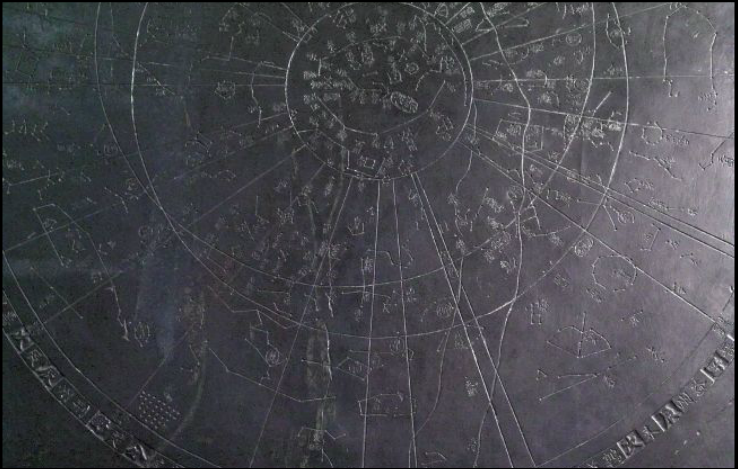 Image result for Song Dynasty Star Map in Stone