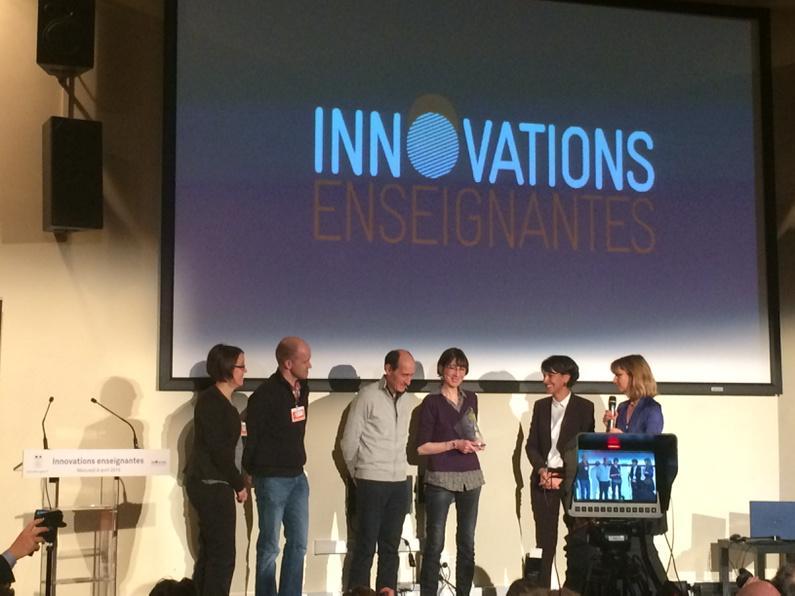 Prix des internautes attribué au collège Paul Langevin de l'académie de Limoges #eduinov #InnovationsEnseignantes http://t.co/HhvPno5oOg