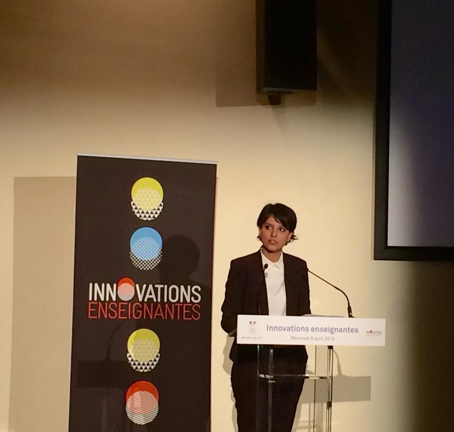 """Libérer les capacités d'initiatives des enseignants"" #eduinov #InnovationsEnseignantes @najatvb http://t.co/iheoPL9atn"
