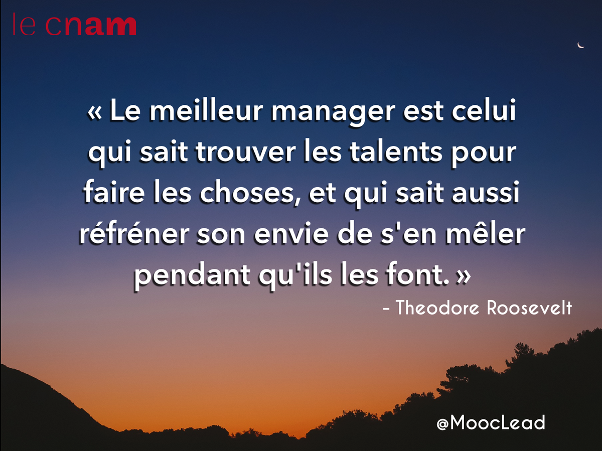 Du Manager Au Leader A Twitter La Citation Du Jour