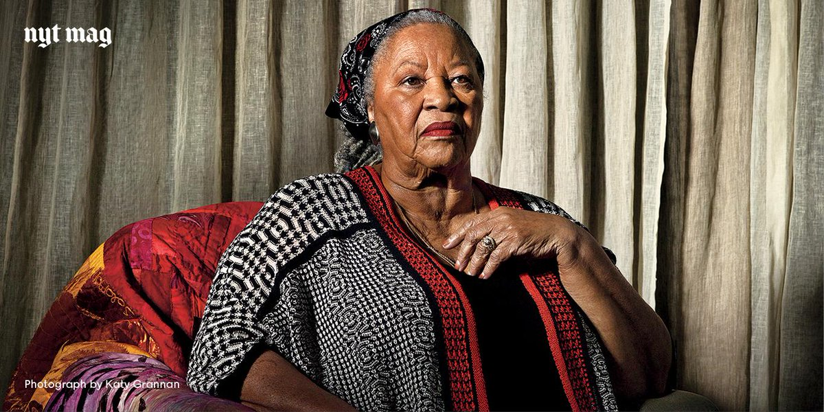 At 84, Toni Morrison sits comfortably as one of the greatest authors in American history. http://t.co/qpYXKL4umM http://t.co/9L9k3S3sjc