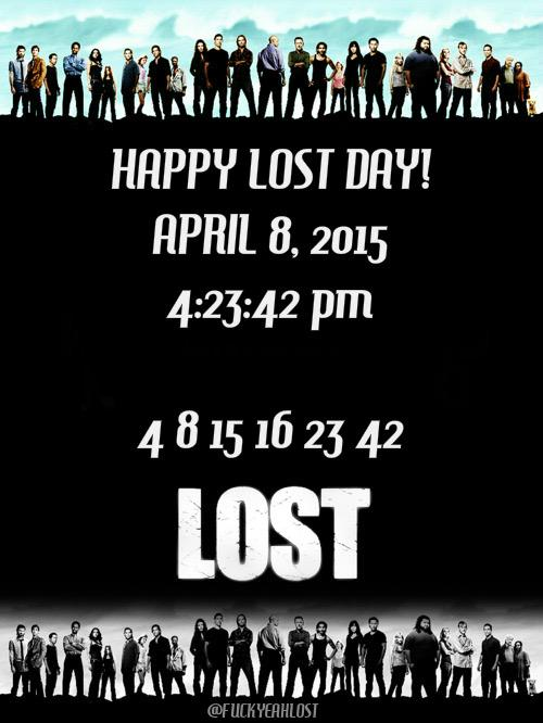 Happy #LOST day! http://t.co/eWSJRWWvaW