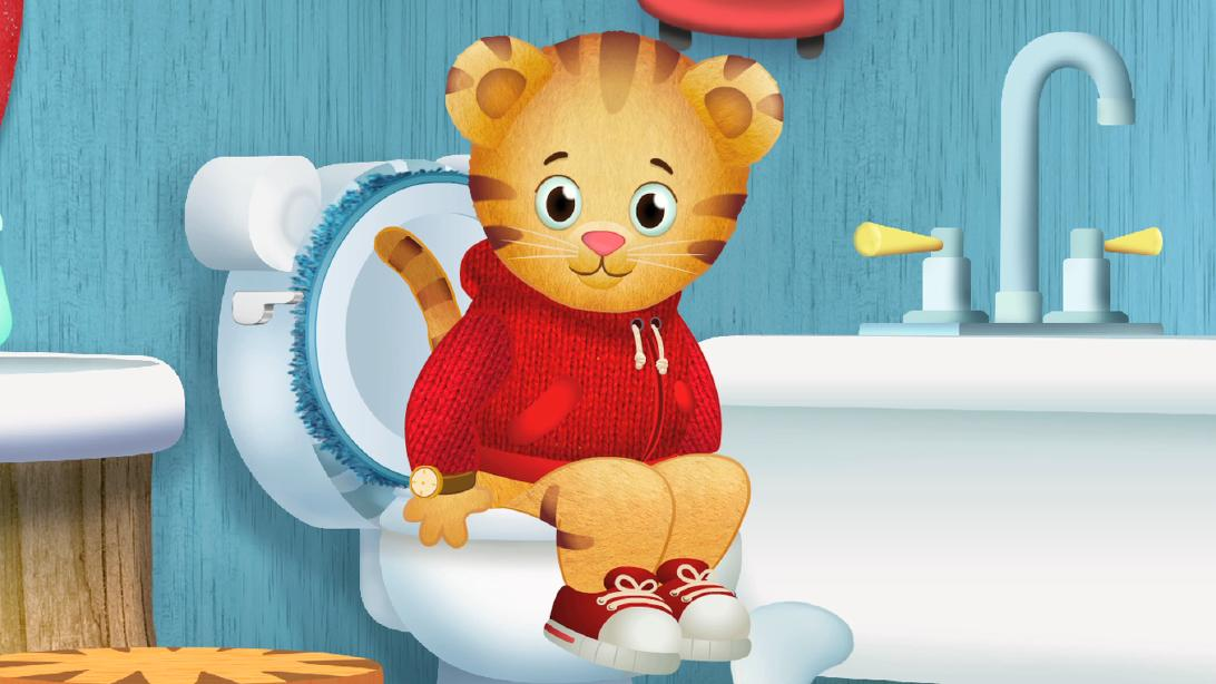 daniel tiger on twitter when you have to go potty stop and go right away flush wash and be. Black Bedroom Furniture Sets. Home Design Ideas