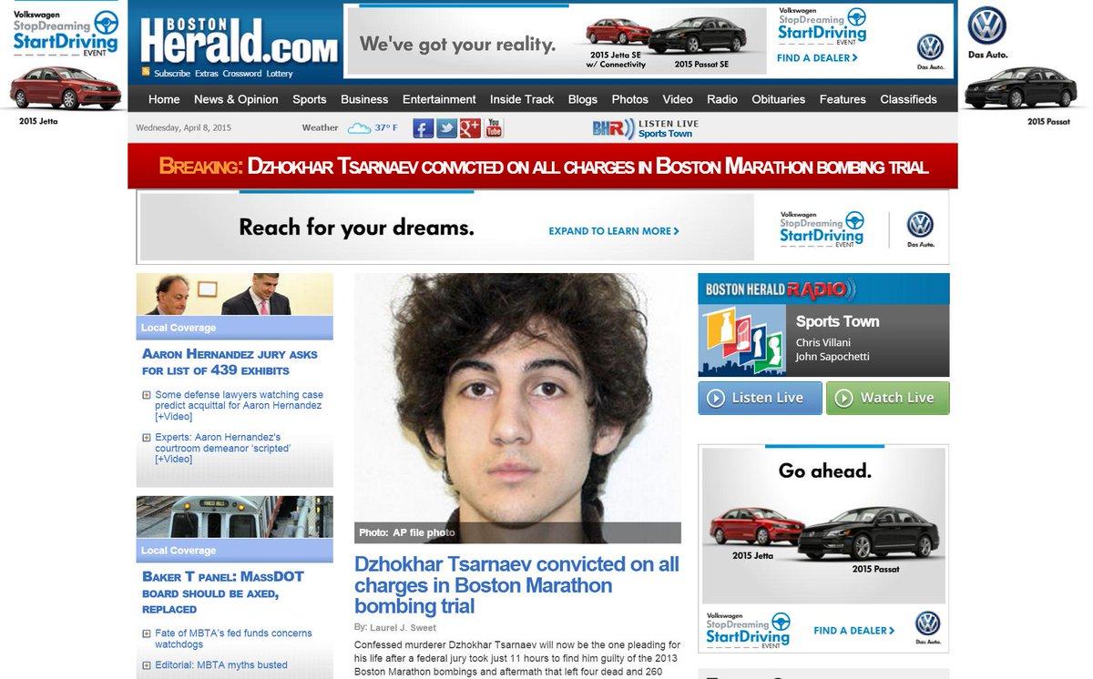 Here's the @bostonherald on #Tsarnaev http://t.co/pEIHjl1Tbi