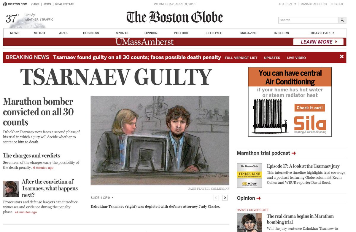 Here's the @BostonGlobe site covering #Tsarnaev http://t.co/pJRP57Gv0T