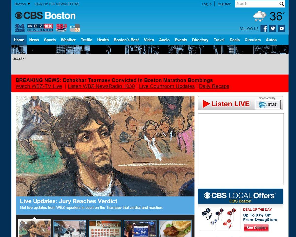 Here's @cbsboston on #Tsarnaev http://t.co/NWL1Iuqhfh