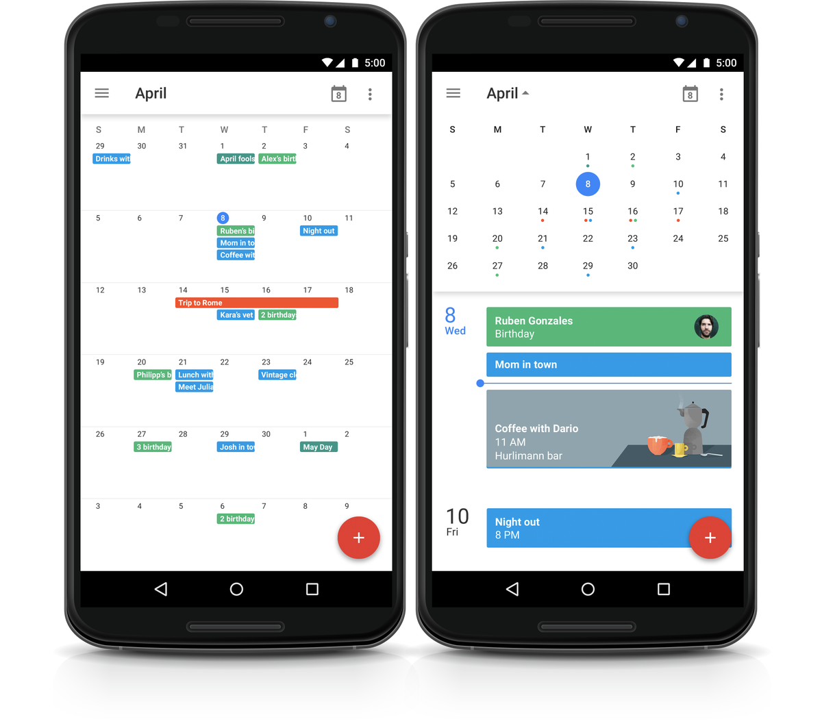 Month view is coming (back) to Google Calendar for Android: https://t.co/bC0bTFgYel http://t.co/aQ5EYQy0D9