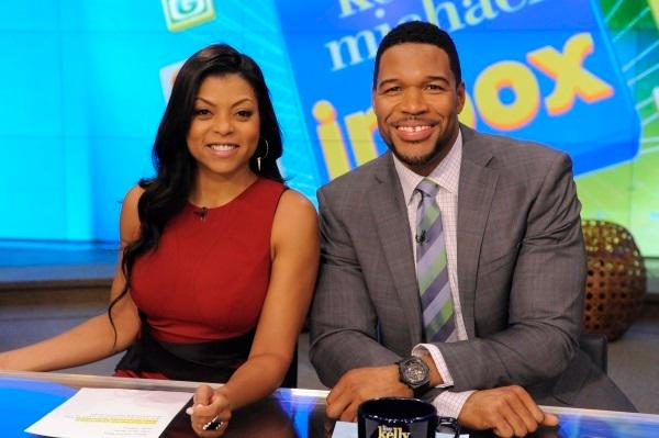Taraji dating michael strahan