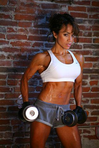 """@MHPStrong: Does @Angela_Mraz look hot or what? #WCW #MHPStrong """